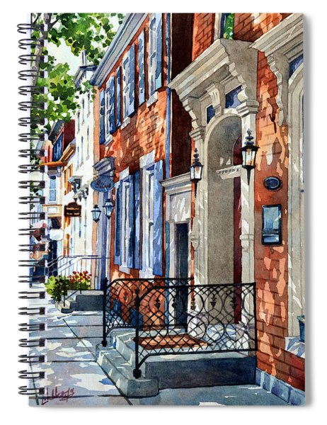Painted Memories Spiral Notebook