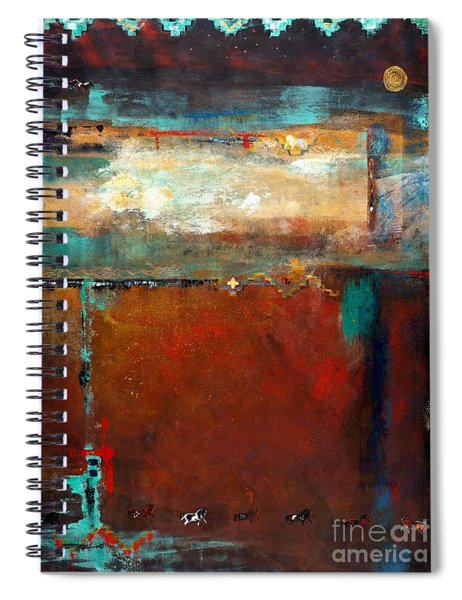 Painted Ponies Spiral Notebook