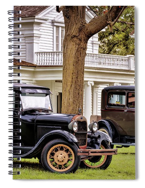 Pair Of Ford Model A  Spiral Notebook