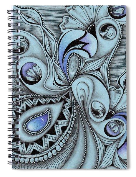 Paisley Power Spiral Notebook