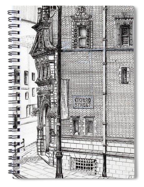 Palace Hotel Oxford Street Manchester Spiral Notebook