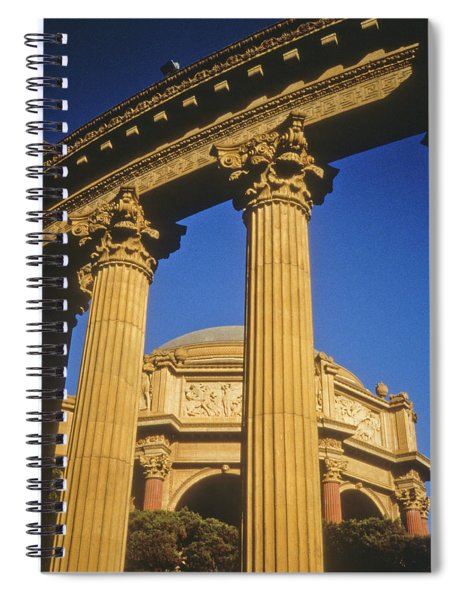 Palace Of Fine Arts, San Francisco Spiral Notebook