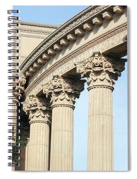 Palace Of Fine Arts Spiral Notebook