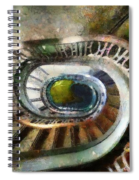 Palace Stairs Spiral Notebook
