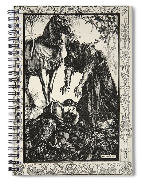 Palamides Appeared Before Her Spiral Notebook
