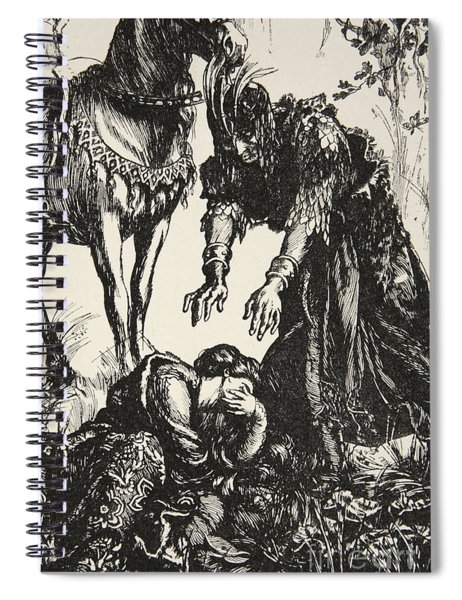 Palamides Appeared Before Isolde Spiral Notebook