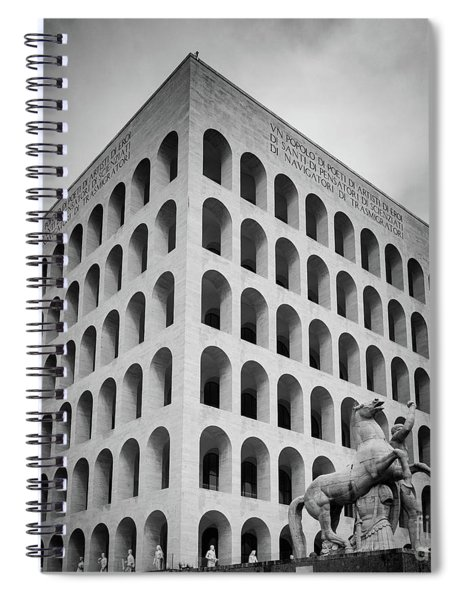 Palazzo Della Civilta Italiana Spiral Notebook