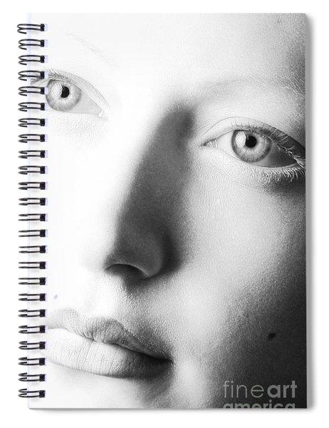 Pale Moonlight Spiral Notebook