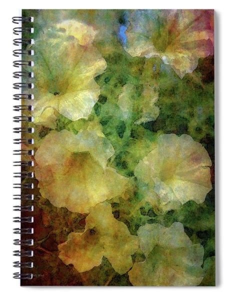 Pale Petunias 5146 Idp_2 Spiral Notebook