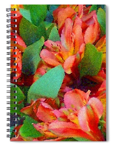 Palette Of Nature 2 Spiral Notebook