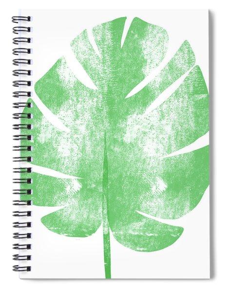 Palm Leaf- Art By Linda Woods Spiral Notebook by Linda Woods