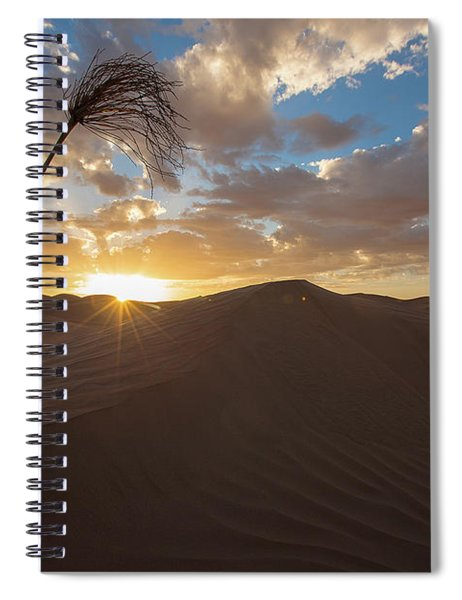 Palm On Dune Spiral Notebook