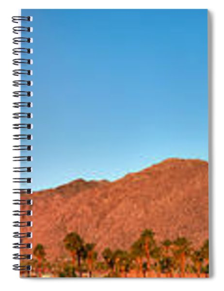 Palm Springs Sunrise Spiral Notebook
