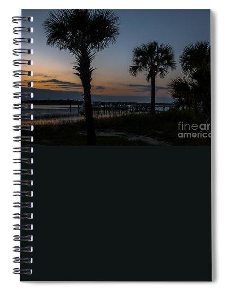 Palmetto Sky Spiral Notebook