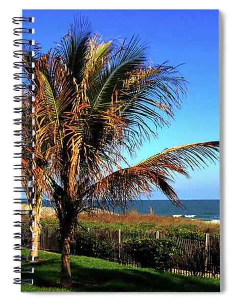 Palms Trees On Md Eastern Shore Spiral Notebook