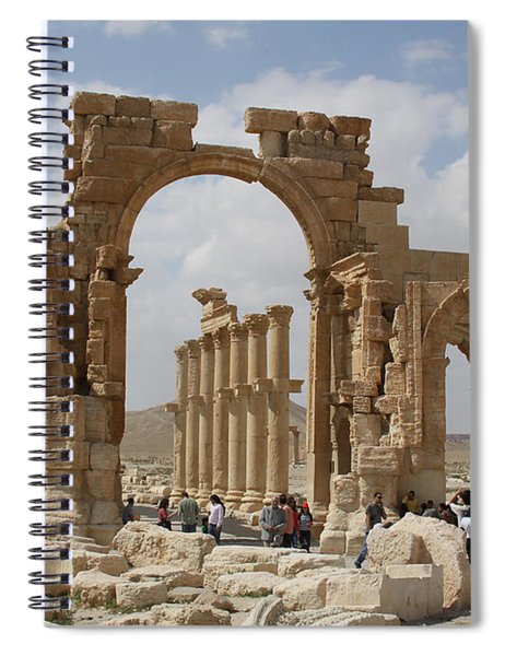 Palmyra Before...triumphal Arch Spiral Notebook
