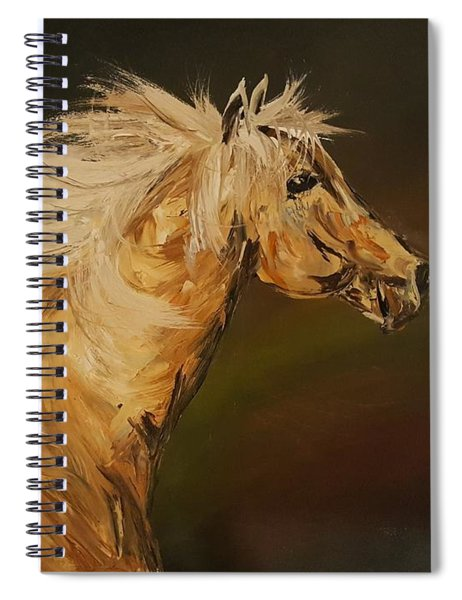 Palomino Running Wild                     85 Spiral Notebook