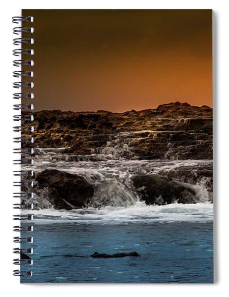 Palos Verdes Coast Spiral Notebook