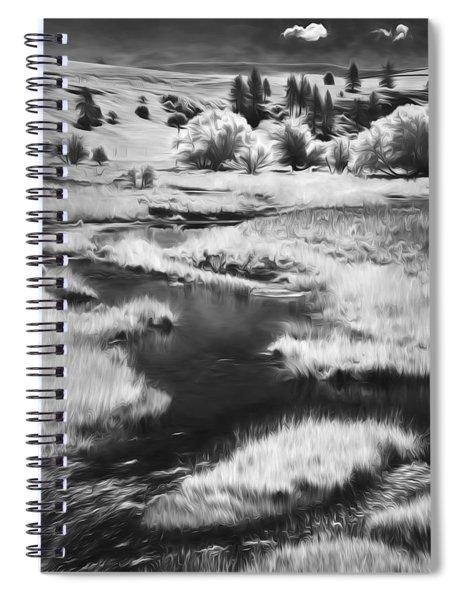 Palouse Back Roads II Spiral Notebook