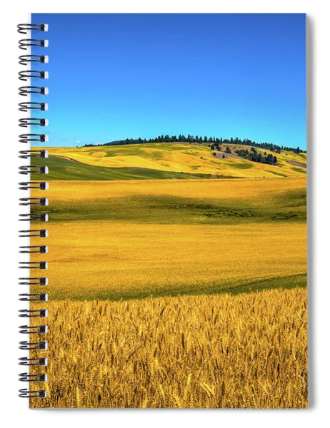Palouse Wheat Field Spiral Notebook