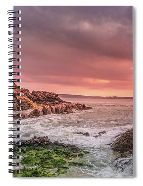 Pambula Rocks Spiral Notebook