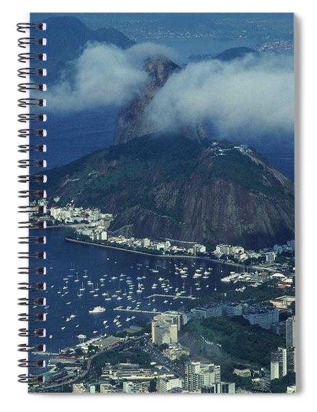 Pan De Azucar - Rio De Janeiro Spiral Notebook