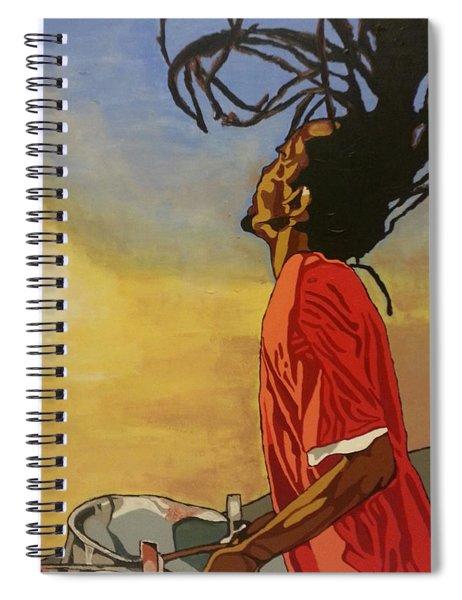 Pan Rising Spiral Notebook