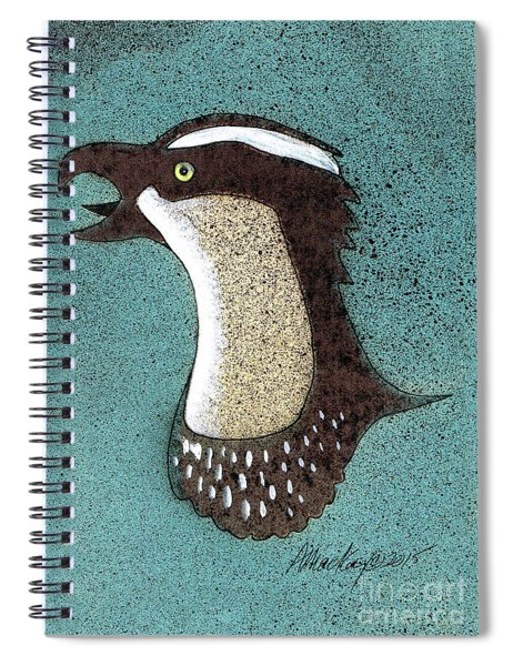 Pandion Portrait Spiral Notebook
