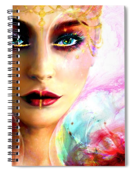 Pandora, The All Giving Spiral Notebook
