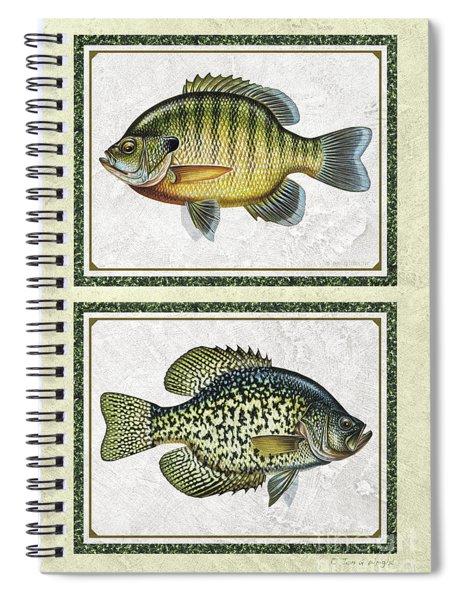 Panfish Id Spiral Notebook