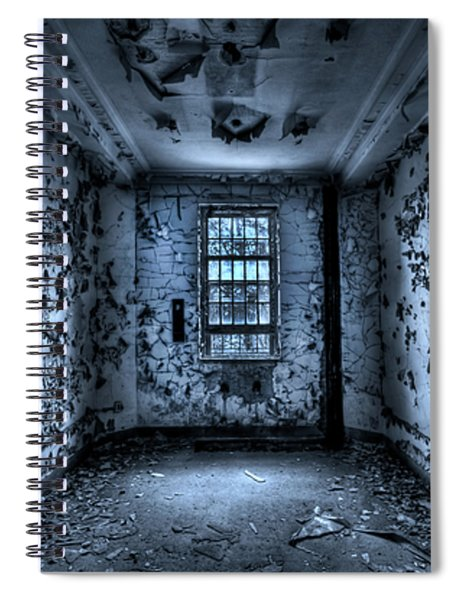 Panic Room Spiral Notebook
