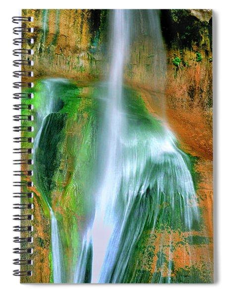 Panorama Lower Calf Creek Falls Escalante Nm Utah Spiral Notebook