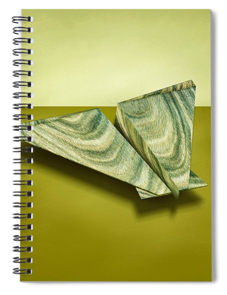 Paper Airplanes Of Wood 19 Spiral Notebook
