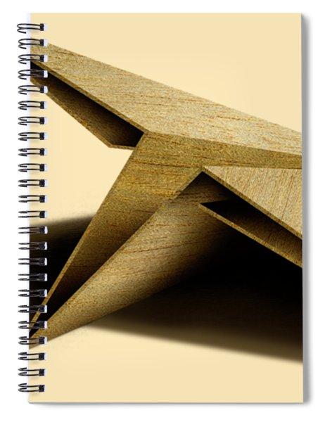 Paper Airplanes Of Wood 7 Spiral Notebook
