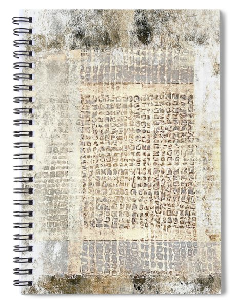 Paper And Cement Texture Spiral Notebook