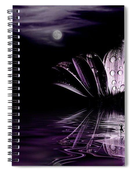 paper Moon Spiral Notebook