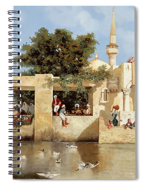 Papere E Cane Spiral Notebook
