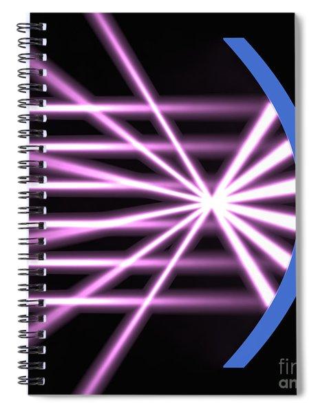 Parabolic Reflector 2 Spiral Notebook