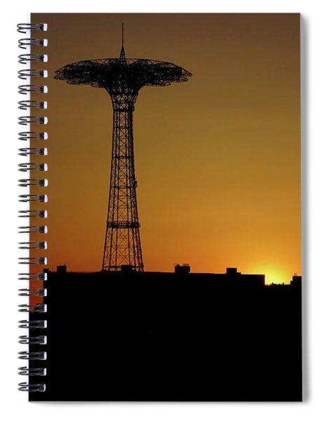 Parachute Jump Coney Island Spiral Notebook