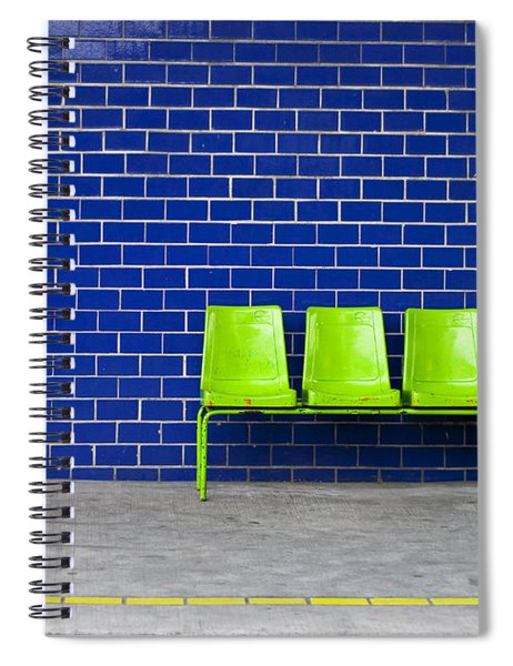 Spiral Notebook featuring the photograph Paradaxochi by Skip Hunt