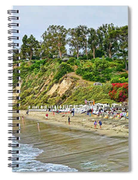 Paradise Cove Panorama Spiral Notebook