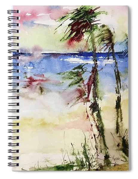 Paradise Palms Spiral Notebook