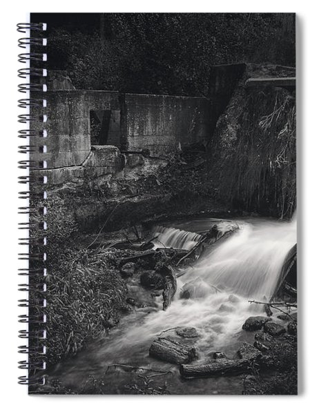 Paradise Springs Dam And Turbine House Ruins Spiral Notebook
