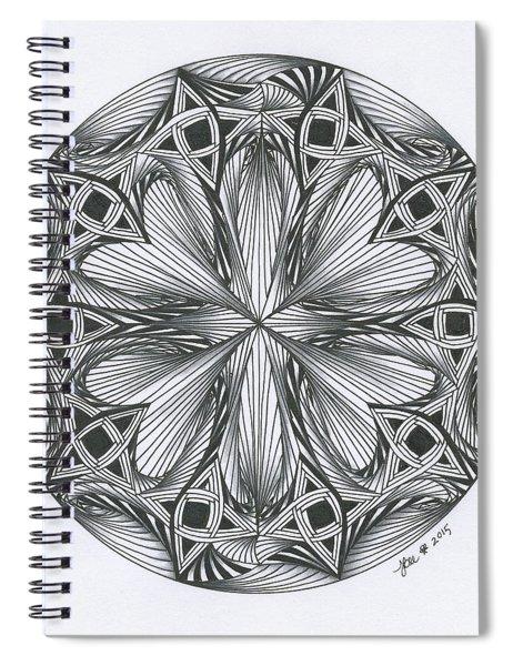 Paradoxical Zendala Spiral Notebook