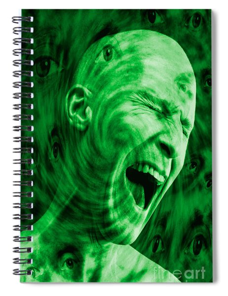 Paranoid Personality Disorder Spiral Notebook