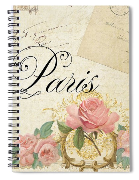 Parchment Paris - Timeless Romance Spiral Notebook