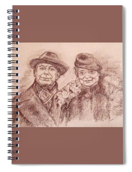 Parents Of The Groom Spiral Notebook