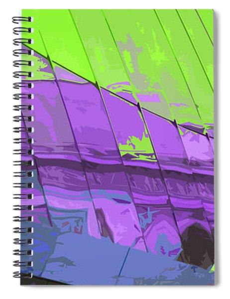 Paris Arc De Triomphe Spiral Notebook