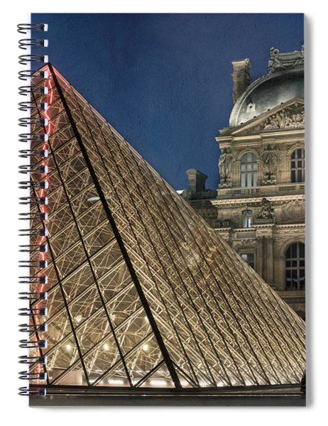 Paris Louvre Spiral Notebook
