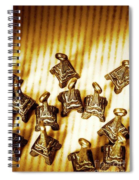 Paris Market Pendants Spiral Notebook